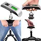 Elaco New 50kg/10g Portable LCD Digital Hanging Luggage Scale Travel Electronic Weight (A1)
