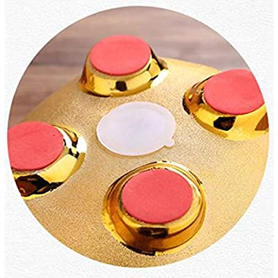 Gold Piggy Bank ~ 招財進寶 We Wish You Wealth and Success Saving Box Piggy Bank Coin Bank For Home Decor, Holiday and Birthday Gift ~ Mose Cafolo: Toys & Games