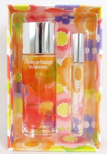 30c15fa96 Clinique Happy in Bloom Perfume Spray and Rollerball Gift Set - Buy ...
