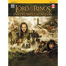 The Lord of the Rings Instrumental Solos (Horn in F)