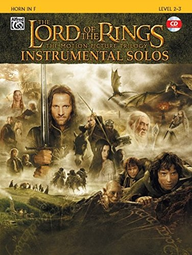 The Lord of the Rings Instrumental Solos (Horn in F) ()