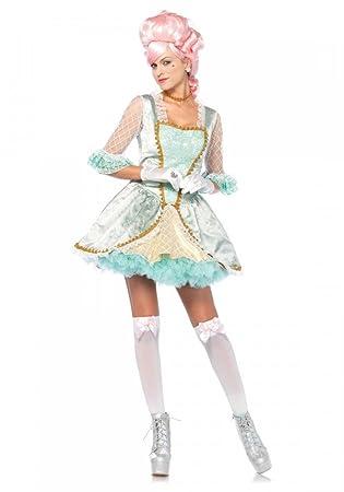 shoperama Deluxe Marie Antoinette Disfraz Leg Avenue Mujer Barroco rococó Reina Francés