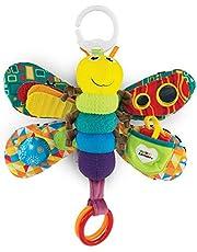 LAMAZE Freddie The Firefly - Clip on Pram & Pushchair Newborn Baby Toy, Sensory Toy for Babies Boys & Girls From 0 - 6 Months