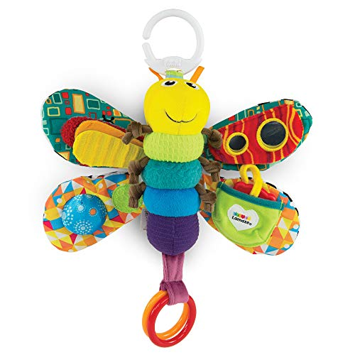 LAMAZE Freddie The Firefly Clip on Pram & Pushchair Newborn Baby & Sensory Toy, Christmas Gift for Babies Boys & Girls…