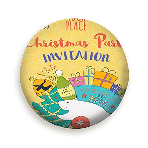 - Spare Tire Cover Colorful Christmas Party Invitation Card Template Holidays Polyester Water Proof Dust-Proof Universal Spare Wheel Tire Cover Fit for Jeep,Trailer, Rv, SUV and Many Vehicle