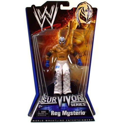 WWE Survivor Series Rey Mysterio Figure by Mattel