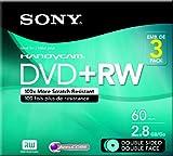 Sony 3DPW60DSR2H 8cm Double-Sided DVD plus RW