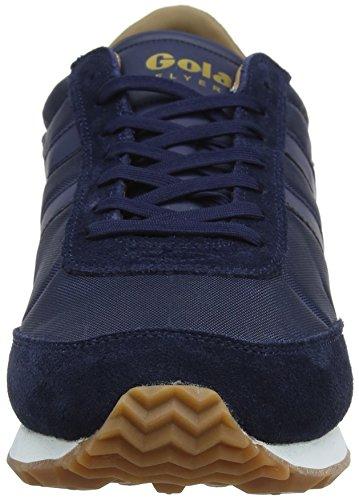 navy Zapatillas Hombre gum Para Azul Navy gum Flyer De Gola wHZFUU