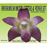 Dendrobium Orchid Gumpaste Cutter Set