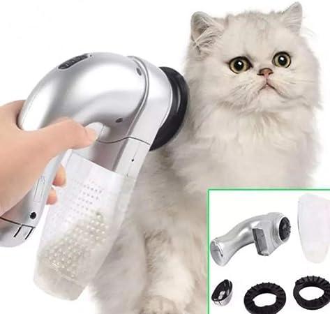 KGAQ Gato eléctrico Perro Mascota Peine aspiradora Limpiador de Pieles depilación recortador de Perros Herramientas de Belleza para Gatos Mascota Perro Mascota Accesorios para Perros Cepillo: Amazon.es: Hogar