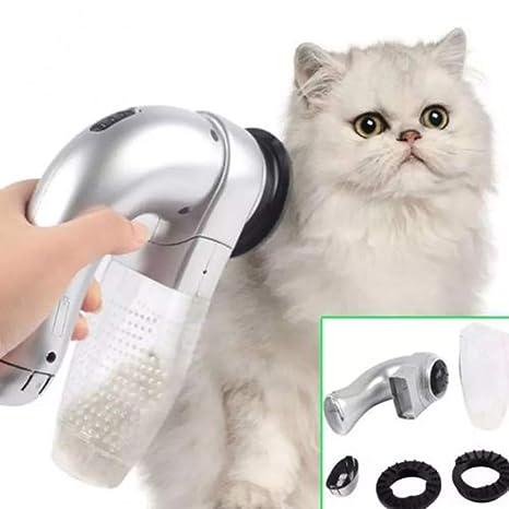 KGAQ Gato eléctrico Perro Mascota Peine aspiradora Limpiador ...
