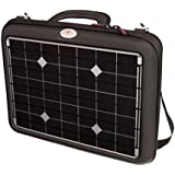 """Voltaic Systems """"Generator"""" 18.0W Portable Solar Briefcase Charger for Laptops, Tablets, and Phones with 20,000mAh/72Wh Battery Backup Bank with 5V/2A USB, and 12V/4A, 16V/3.5A, 19V/3A selectable outputs for Laptops, DSLR batteries, Apple Mac, Sony, Toshiba, Asus, Samsung, Dell, iPhone, and iPad - 1024-S"""