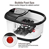 Foot Spa Misiki Foot Bath Massager with Heat & 3