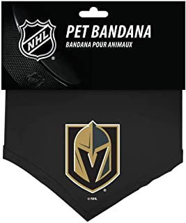 product image for All Star Dogs NHL Vegas Golden Knights 655257719290 Sports Fan Pet Bandanas, Black, Small