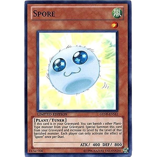 Spore GENF-ENSE2 Super Rare Limited Ed NM Yu-Gi-Oh