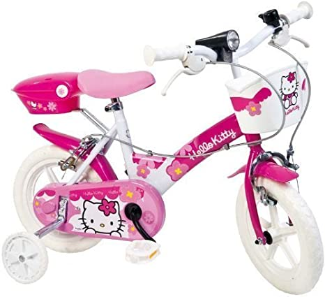 Dino Bikes 12-Inch Charmmy Kitty Children's Bike