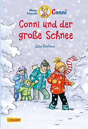 Conni-Erzählbände 16: Conni und der große Schnee (farbig illustriert)