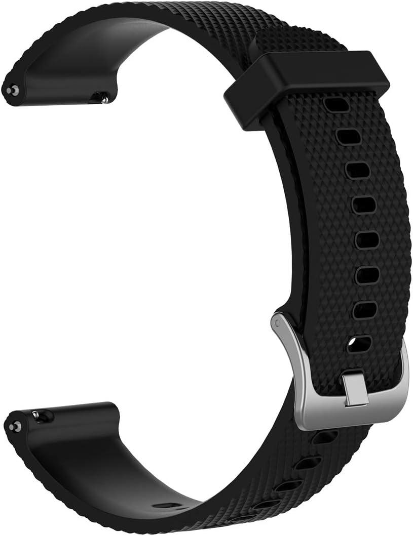 LOKEKE - Correa de Repuesto para Samsung Galaxy Watch de 22 mm, Correa de Silicona de Repuesto para Samsung Galaxy Watch (46 mm), Samsung Gear S3 SM-R380 SM-R381 SM-R382/Amazfit Pace Stratos 2