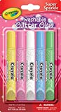 Crayola Valentine's Day Super Sparkle Washable Glitter Glue