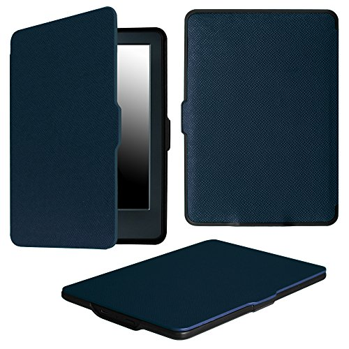 Fintie Case for All-New Kindle E-reader (8th Generation 2016) - The Thinnest and Lightest Slim Shell Cover with Auto Wake/Sleep for Amazon All-New Kindle (6