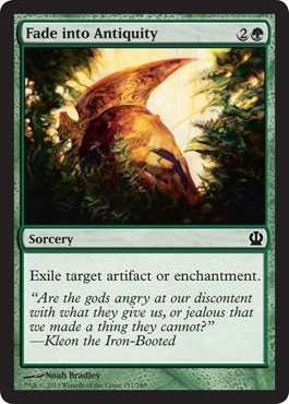 Magic The Gathering Antiquities - Magic: the Gathering - Fade into Antiquity (157/249) - Theros