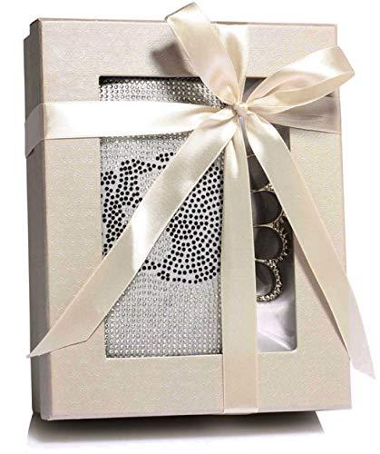 Pour Anna Grace Pochette M Femme Argenté Silver 1pq8p