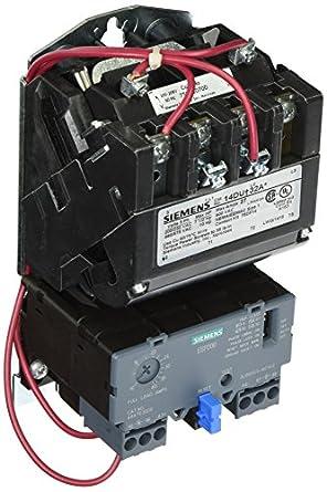 Siemens 14due32ad heavy duty motor starter solid state for Nema size 1 motor starter