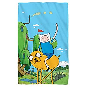 "Jake & Finn -- Adventure Time -- Beach Towel (36"" x 58"")"