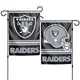 Oakland Raiders Garden Flag 12 inch x 18 inch Double Sided from Flags Unlimited