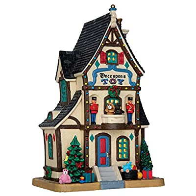 Lemax Once Upon A Toy Porcelain Village Building