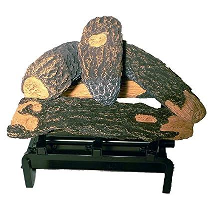 - Amazon.com: Fire Pit Log Set For Patio Pleasures: Garden & Outdoor