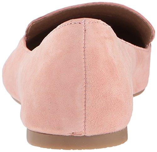 Steve Madden Damen Feather Loafer Flat Rose Wildleder