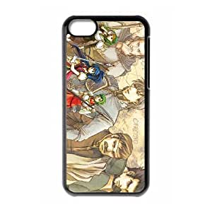 iPhone 5c Cell Phone Case Black Fire Emblem The Sacred Stones 021 GY9272835