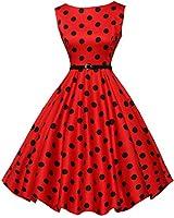 GRACE KARIN Audrey Hepburn Dress for Women 50s...