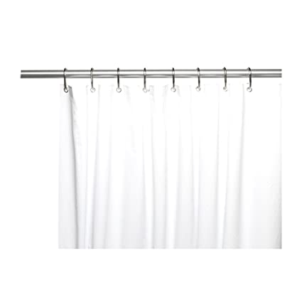Carnation home fashions shower curtain liner 80
