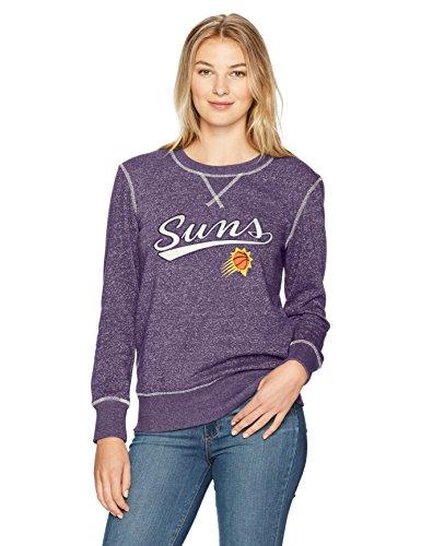 - NBA Phoenix Suns Women's Ots Seneca Crew Neck Pullover, X-Large, Purple