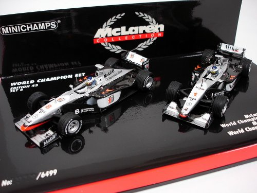 1/43 WORLD CHAMPION SET EDITION 43 SET6(2台セット) 「McLaren COLLECTION」 402989901