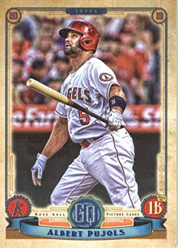 (2019 MLB Gypsy Queen Baseball #298 Albert Pujols Los Angeles Angels Official Topps Trading Card)