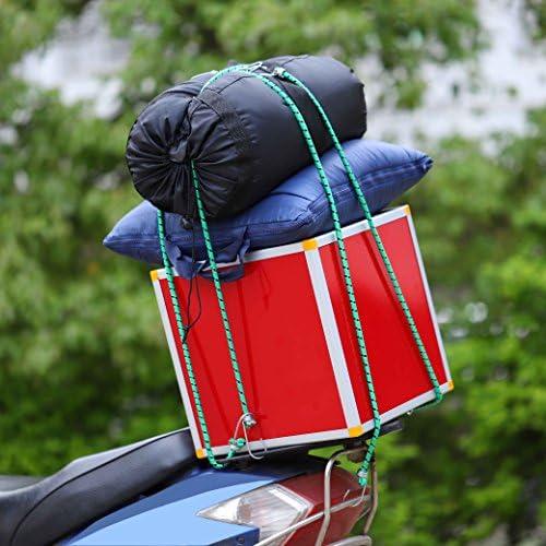 Cuerda de Equipaje,Pulpos para Bacas de Veh/ículos Longitud Surtida Elasticidad Fuerte con Gancho para Coche Moto Furgoneta Cubierta 3 pack 60cm 80cm 100cm