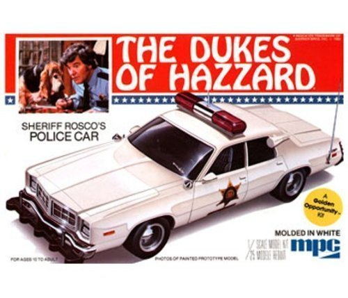 1 25 Roscoe's Dodge Monaco Police Car Model Building Kit by MPC