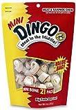 Dingo Mini Bones 21-Pack Value Bag, 9-Ounce, My Pet Supplies