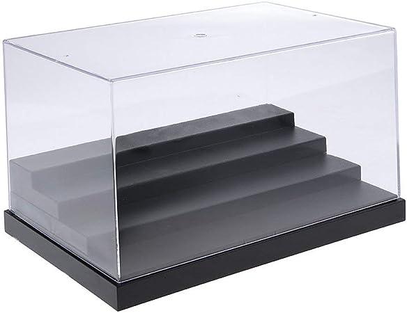 Tubayia acrílico Transparente único Vitrina Cajas Vitrina Cube ...