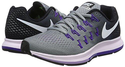Nike Womens Zoom Pegasus 33 Stealthwhite-black-firece Purple 6.5