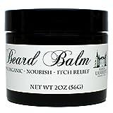 Maison Lambert Organic Beard Balm -Beard Balm Leave-in Conditioner - All Natural - Organic Oils and Butters 2 Oz