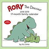 Rory the Dinosaur 2018-2019 17-Month Family Calendar