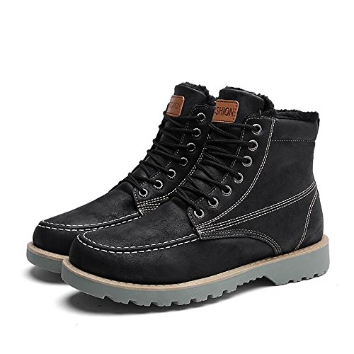 Men's Shoes Feifei High-Quality Materials Winter Non-Slip Sports and Leisure Keep Warm Martin Boots 3 Colors 01 1icDwNe2