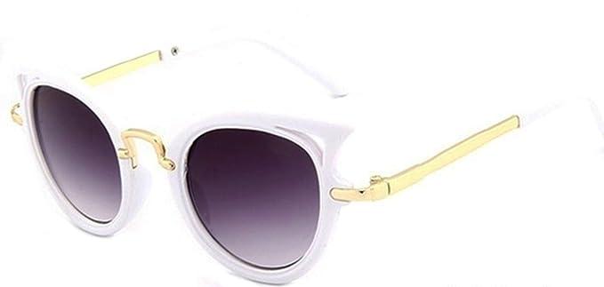 Gafas de sol para niña de 10 12 14 años redondas con lentes ...
