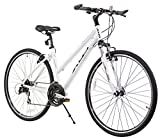 XDS Womens Cross 300 24-Speed Step-Through Hybrid Bicycle, 44cm, White