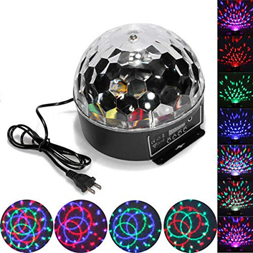 8 Rotating Mirror Ball With Led Lights in US - 6