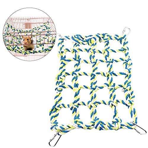 UEETEK Rat Ferret Climbing Rope Net Pet Bed Small Animal for sale  Delivered anywhere in Canada
